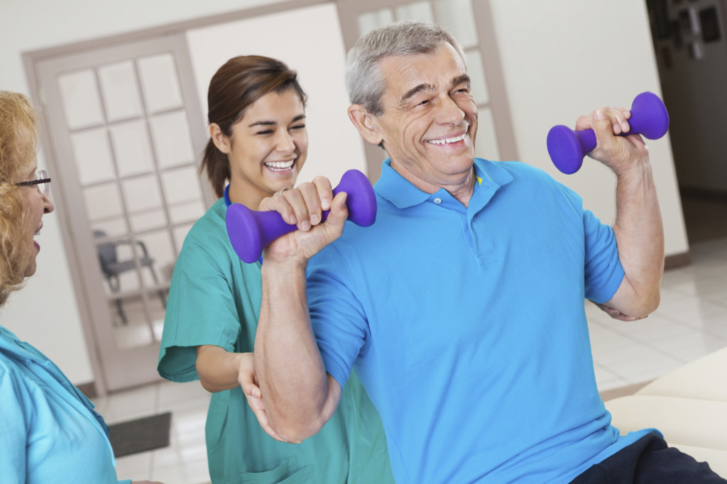 Rehabilitation & Therapy at Park Manor of Tomball nursing home in Tomball, TX.
